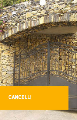cancelli in ferro